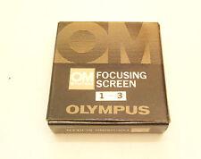 Olympus Focusing Screen 1 - 3 OM System