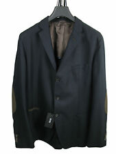 Boss Black VESTE DE COSTUME Matley en 110 bleu foncé 100% laine vierge