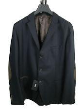 Boss Black Jacket Matley in 110 Dark Blue 100% Virgin Wool