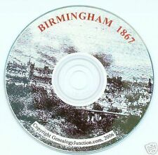 BIRMINGHAM, 1867 - POST OFFICE DIRECTORY - CD