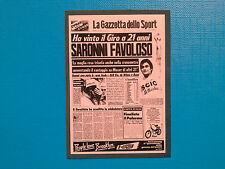 Figurine Panini 100 Giro d'Italia n.374 Maglia Rosa