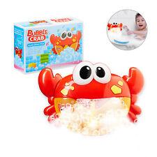 Badewannenspielzeug Krabbe, Kinder Badespielzeug, Schaummaschine Badekrabbe