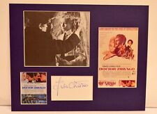 """Doctor Zhivago"" Collage with Julie Christie Autograph (includes COA)"