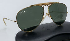 B&L Ray Ban 58mm Outdoorsman G-15 Bl Lenses Bausch Lomb Sunglasses Wrap Aviator