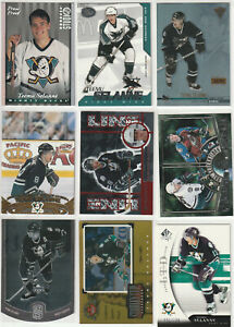 TEEMU SELANNE 1997-98 PACIFIC INVINCIBLE *OFF THE GLASS* #2