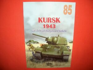 Tank Power Militaria Ledwoch 85, KURSK 1943 Vol.2 Orel Bjelgorod Charkow