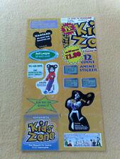 Sticker Sammelsticker Anime Stickerbogen Pokemon Kids Zone Sprüche Yugioh