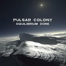 Pulsar Colony - Equilibrium Zone CD 2014 psychedelic black metal Razed Soul