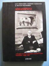 Ferrandis Kassovitz Boukhrief Assassin(s) Editions Actes Sud 1997 M. Serrault