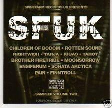 (J792) SFUK, Sampler Vol Two - DJ CD