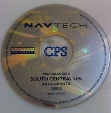 BMW/ ROVER GPS NAVIGATION MAP CD DISC #4 SOUTH CENTRAL U.S. TX OK SOFTWARE DISK