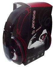 casque audio écouteur noir super bass mp3/mp4 jeux cd/dvd ordinateur apple