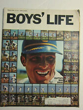 BOYS LIFE MAGAZINE March 1970 Seattle's Mike Hegan  VINTAGE