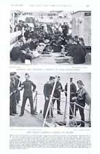 1896 Making Clothes Ship's Postman Arethusa Mandoline Band Howe Football Team