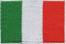 écusson ECUSSON BRODE PATCHE PATCH THERMOCOLLANT DRAPEAU ITALIE DIM. 7 X 5 CM
