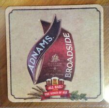Adnams Broadside Kings of ale beer mat