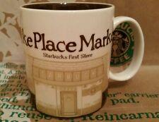 Starbucks COFFEE MUG/TAZZA/BICCHIERE Pike Place Market, Global Icon, Nuovo & inutilizzato!