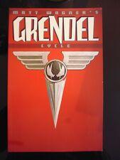 GRENDEL : CYCLE.  DARK HORSE COMICS MATT WAGNER. SOFTCOVER GRAPHIC NOVEL