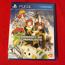 Digimon Story Cyber Sleuth (Sony PlayStation 4, 2016) PS4