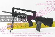 "1/6 Scale 5"" French military. Assault Rifle  FAMAS"