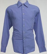 Zara Man Dress Shirt Mens Size 18 Button Down Long Sleeve Cotton Casual Men Sz