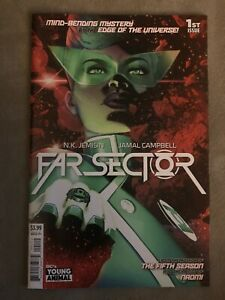 FAR SECTOR #1 2nd Print 1st Appearance Of New Green Lantern DC