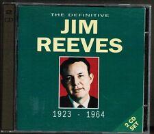 The Definitive Jim Reeves 1923 - 1964, 2 CD SET 1992 Arcade Rec.