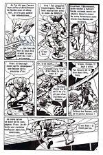 LES 4 FANTASTIQUES CONTRE CYBERMAN PLANCHE DE MONTAGE ORIGINALE PAGE 8