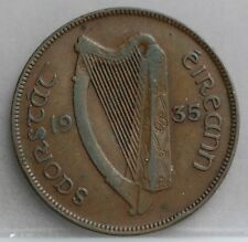 Ireland Ierland - 1 Penny 1935 - KM# 10
