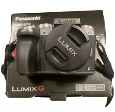 Panasonic Lumix G7 16.0 MP Digital Mirrorless Camera - Black (Kit with...