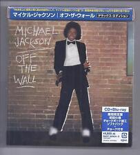 MICHAEL JACKSON Off The Wall JAPAN Blu-SPEC CD + Blu-ray 2016 DELUXE EDITION