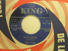 Ricky Lyons 45 SHIM SHAM / HAVE NO FEAR ballad~ King VG  a-side r+b dance rocker