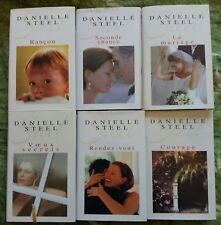 ♦ Danielle STEEL - Lot 03/15 - 6 livres