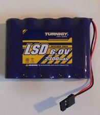 FUTABA TYPE TURNIGY 6 V capacità 2300 mAh Flat Pack Ricevitore Batteria Nuovo