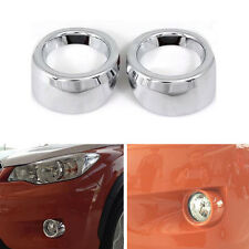 2x Car Chrome Front Fog Light Lamp Cover Trim For XV Impreza Hatchback 2012-2014