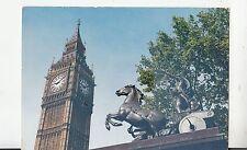 BF25060 big ben london and boadicea statue  united kingdom front/back image