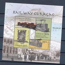 [CU077] Curacao 2012 Railway Train Eisenbahn Chemin de Fer Sheet MNH # 77