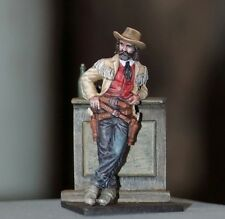Toy lead soldier,Wild Bill Hickok,handpained,collectable,gift idea,decoration