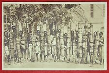 Photo / Postcards allusive Native Tribes / Tree Bark Bags