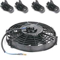 "9"" Universal  Slim Line Electric Radiator Fan Engine Upgrade Cooling"