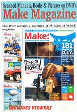 Make magazine 18 Issues