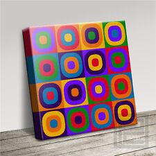 Wassily Kandinsky Estilo Moderno Abstracto Cuadro Lienzo Arte Impresión Arte Williams