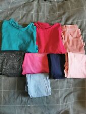Girls Leggings Tops Skirt Clothes Bundle Age 9-10 Years