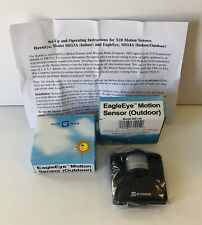Lot of 2 X-10 Automated Home Eagle Eye Motion Sensor (Outdoor) Model Ms14A New