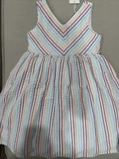 BNWT hope and henry striped dress girls 6
