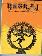 RAM AVTAR VEER SANGEETACHARYA Natraj Indian Dance Practical Guide 1982 vintage