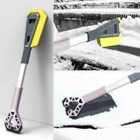 Schneebürste mit Eiskratzer - Multifunktionale abnehmbare Schneeschaufel W7W2