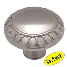 *25 Pack* Cosmas Cabinet Hardware Satin Nickel Cabinet Knobs #7175SN