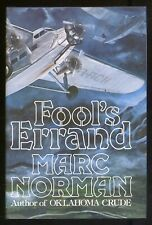 Marc NORMAN / Fool's Errand First Edition 1978