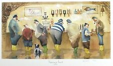 "Des Brophy ""Fisherman's Friend"" Pesca pub SGD Ltd Ed! tamaño: 35cm X 57cm Nuevo"